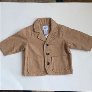 Corduroy Jacket with Patched Elbows NWT